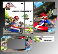 Skin Sticker Cover for Nintendo Wii U Console & Controller 217 Super Mario Kart