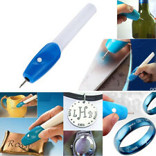 Electric Etching Engraving Carve Hand Tool Steel Jewellery Engraver Pen Kit #P