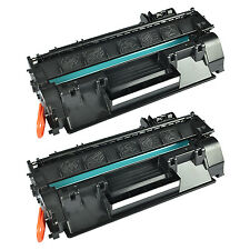 US STOCK 2PK CE505A 05A Black Toner Cartridge with HP for LaserJet P2030 P2035