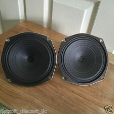"2 NOS 6-1/4"" 8 Ohm Projected Sound CO OP Drive In Movie Theatre Speakers"