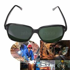 Safety Welding Glasses Dark Green Lens UV Protective Eye Impact Curing Goggle