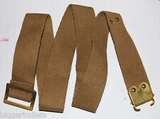 Vintage Military Sten Submachine gun Sling - TAN Web - Surplus Unissued