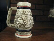 avon ceramarte miniture mug made in brazil vintage car design