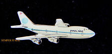 PAN AM 747 HAT PIN AIR LINES BROACH AIRLINEER PLANE FLIGHT 103 FAA TIE TAC WOW