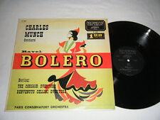 CHARLES MUNCH Bolero / Berlioz Corsair Overture - Richmond London B-19001 EX