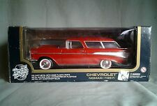 1957 Chevrolet Nomad Bel Air 1:18 Die Cast Metal Model Road Tough