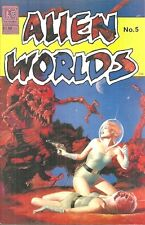 ALIEN WORLDS 5, PC  December 1983 - FULL COLOR - JOHN BOLTON, TOM YEATES