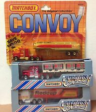 Matchbox CONVOY TRUCKS vintage CY3 Peterbilt CY8 Kenworth CVY tractor trailers