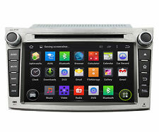 "7"" Android 5.1 Quad Core Car Dvd Gps Navi Dab For Subaru Legacy outback 2009-12"