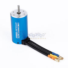 3670 2150KV 4Poles Brushless Motor for RC 1/8 1/10 off-road Monster Car Boat US