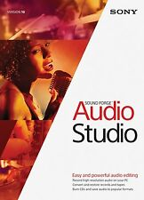 Sony Sound Forge Audio Studio 10 Academic for Windows **NEW Electronic Download