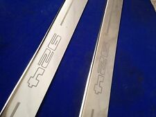 924 porsche �� Door  sills kick plates stainless etched logo inc fixings
