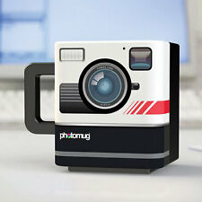 NEW Creative Novelty Photo Mug Retro Camera Shaped Ceramic Tea Coffee Cup 2090U