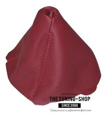 FITS BMW Z4 2002-2008 GEAR STICK GAITER COVER MANUAL CALYPSO RED LEATHER