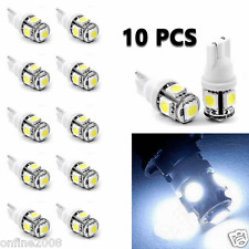 10pcs T10 5-SMD 5050 Xenon Car LED Light bulbs 192 168 194 W5W 2825 158 White