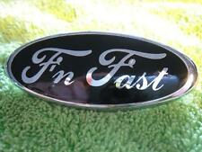 83-93 Mustang 'F'N FAST' Badge Overlay GT/V6/Cobra - Perfectly Cut! 848586879012