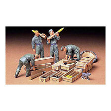 TAMIYA 35188 German Tank Ammo-Loading Crew 1:35 Military Model Kit Figures