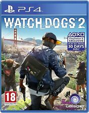 BRAND NEW SEALED WATCHDOGS 2 WATCH DOGS 2 PS4 GAME + BONUS DLC