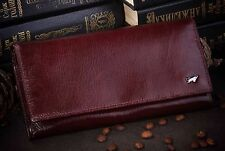 Women's Genuine Leather Brown Braun Buffel Wallet for Lady