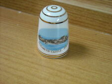 ELIZABETH CASTLE,JERSEY - BOUCHET CHINA THIMBLE