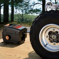 Electric Portable Winch 6000 LB 12 Volt Remote Towing Hitch Truck Trailer Boat
