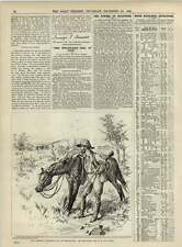1891 Randolph Churchill Mashonaland End Of Long Chase Reginald Cleaver