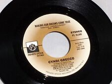 Cyndi Grecco: Making Our Dreams Come True / Watching You  [Unplayed Copy]