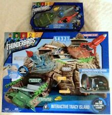 Thunderbirds Interactive Tracy Island c/w TB1,TB2,TB3 & TB4.All new & sealed