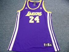 ADIDAS WOMEN'S NBA LOS ANGELES LAKERS KOBE BRYANT ROAD JERSEY SIZE S