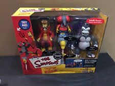 The Simpsons Tree House of Horror 2000 Playset. Toys R Us Exclusive. NIB
