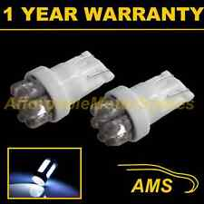 2X W5W T10 501 XENON WHITE 7 DOME LED INTERIOR COURTESY LIGHT BULBS HID IL100401