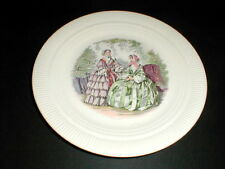 """Salem China Victory GODEY PRINTS 9-1/2"""" Luncheon Plate/s"""