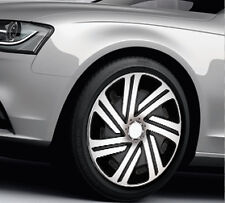 "4x14"" Wheel trims for Volkswagen Polo Lupo Fox Golf  full set  silver - black"