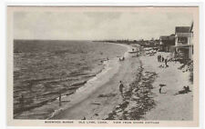 Beach Scene Boxwood Manor Shore Cottages Old Lyme Connecticut postcard