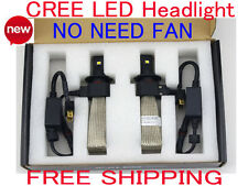 NEW 80W CREE LED Headlight Conversion Kit H4 H7 H11 6000K White Light Bulb Lamp
