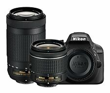 NIKON D3300 with AF-P 18-55mm VR + AF-P 70-300mm f/4.5-6.3ED VR Kit Lens (SMP3)