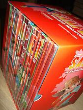 OPERA COMPLETA BOX COFANETTO 22 DVD SAMPEI IL RAGAZZO PESCATORE GAZZETTA CARTONI