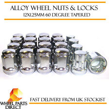 Wheel Nuts & Locks (16+4) 12x1.25 Bolts for Nissan Micra [Mk4] 10-16