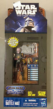 STAR WARS THE CLONE WARS GALACTIC BATTLE GAME MAT EXCLUSIVE SERGEANT BRIC FIGURE