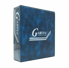 "Saf-T-Gard 3"" D-Ring Yu-Gi-Oh MTG Gaming Card Album Blue Binder"