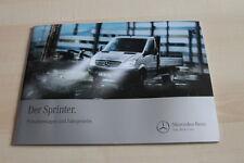 139048) Mercedes Sprinter - Pritsche + Fahrgestell - Prospekt 04/2012