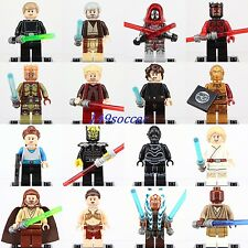 16pcs Star Wars Minifigures Salve Leia Padme Amidala Savage Opress Custom Lego