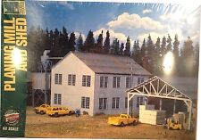 Walthers 933-3059 HO SCALE Planing Mill and Shed Kit Main Building NIB