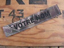 Bande patronymique ..:: KRYPTEK ::.. name tape NOMINATIF velcro US Airsoft ARMY