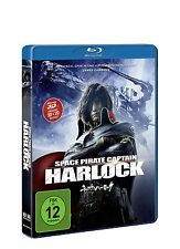 SPACE PIRATE CAPTAIN HARLOCK BD 3D/2D  BLU-RAY NEU