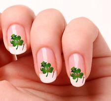 20 Nail Art Adesivi Trasferimenti Decalcomanie #550 Saint Patricks Day stacca e