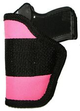 Conceal Holster Pink Small Auto .22 .25 32, Kel-Tec 380, Colt, Ruger LCP Taurus