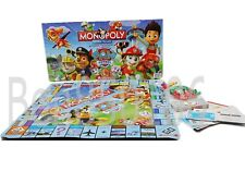 Hot Party Family Board Game PAW Patrol MONOPOLY  2~6 Players Education Fun Gift