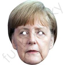 Angela Merkel político alemán Celebridad Tarjeta Máscara. todas nuestras máscaras son pre-corte!