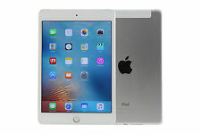 "Apple iPad Mini 4 Wi-Fi + Cellular 128GB Silber (7,9"") - Wie Neu # AKTION"